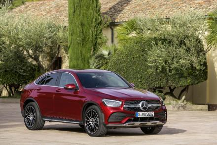 Mercedes-benz Glc Coupe GLC 300 4Matic AMG Line 5dr 9G-Tronic
