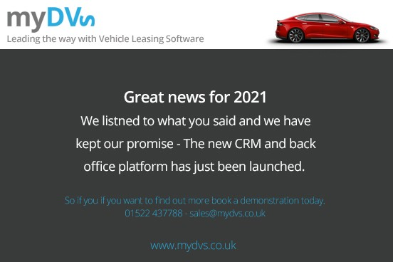 myDVS launch new CRM